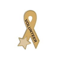 Volunteer Ribbon with Star