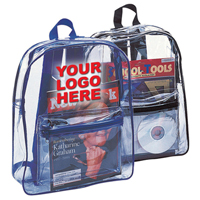 All Clear Vinyl Backpack