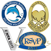 Volunteer & Nonprofit Pins