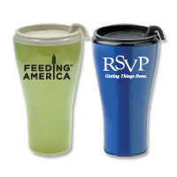 16 oz. Eco-Aware Thumb Slide Lid Biodegradeable Tumbler