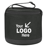 Cans-To-Go Non-Woven Round Kooler Bag