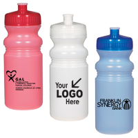 20 Oz. Frosted Fitness Bottle