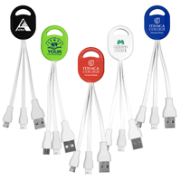 2-in-1 Charging Cable For Cell Phones and Tablets