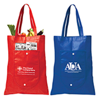 "13"" W x 17"" H - Fold-Up Tote Bag"