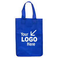 "6-1/2"" W x 9"" H 80GSM - Non-Woven 'Bag-it' Value Priced Lightweight Lunch Tote Bag"