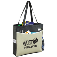 "15"" W x 15"" H - 'The Pro' Tradeshow, Convention and Meeting Tote Bag"
