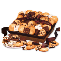 Home-Style Cookie & Brownie Basket - Two Dozen
