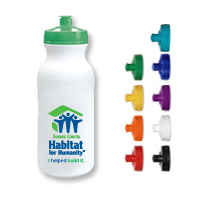 21 oz. Sports Bottle Cap Biodegradeable Bottle