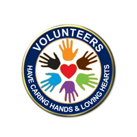 Volunteers Have Caring Hands & Loving Hearts
