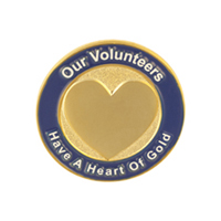 Volunteers Have a Heart of Gold