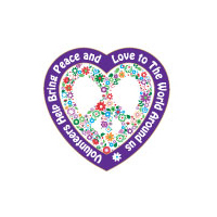 Volunteer Peace and Love Theme