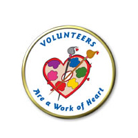 Volunteers Are A Work Of Heart