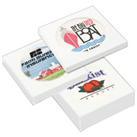 Ceramic Coaster with Gift Box – 2 Coaster Set, Full Color