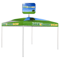 Customized Pop Top™ Economy Tent (10' x 10')