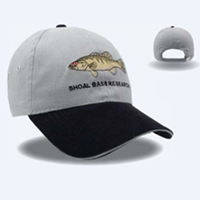 Constructed Lightweight Brushed2 Tone Cotton Twill Sandwich Cap
