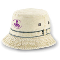 Pigment Dyed Chino Cotton Twill Buchet Hat