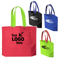 All Purpose Tote Bag w/ Bi-Color Handle Styles