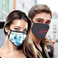 Full Color Sublimation Cotton Face Mask