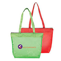 Splash Tint Zipper Tote