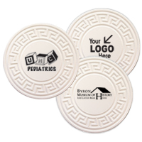 TerraCoasters Embossed Coasters - Bulk