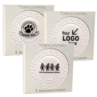 TerraCoasters Embossed Coaster - Single Box