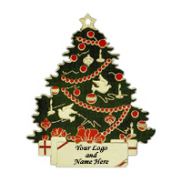 Hand Painted Enamel Metal Ornament