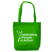 """Celebrating People in Action"" Tote Bag"