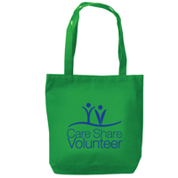 """Care, Share, and Volunteer"" Tote Bag"
