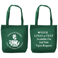 """Volunteers Plant the Seeds of Kindness"" Tote Bag"