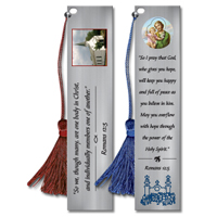 Custom Pewter Bookmarks