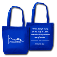 Eco Friendly Church Tote Bag