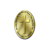 Golden Rule / Christian Volunteer Pin
