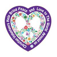 Christian Volunteers Bring Peace and Love