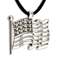 InspireRings Pendant - Stock U.S.A. Flag