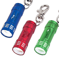 Mini Aluminum LED Light With Key Clip