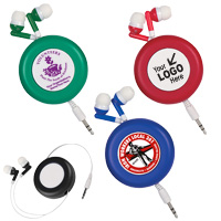 Retro Retractable Ear Buds