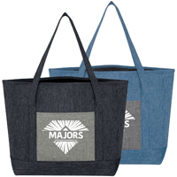 Denim Digs Tote Bag