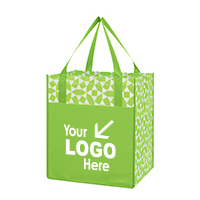 Non-Woven Geometric Shopping Tote Bag
