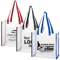 Clear Security Tote Bag