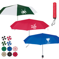 "43"" Arc Super-Mini Telescopic Folding Umbrella"