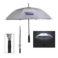 "46"" ARC RAIN  REFLECTIVE UMBRELLA"