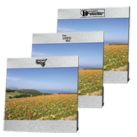 Horizontal Aluminum Photo Frame