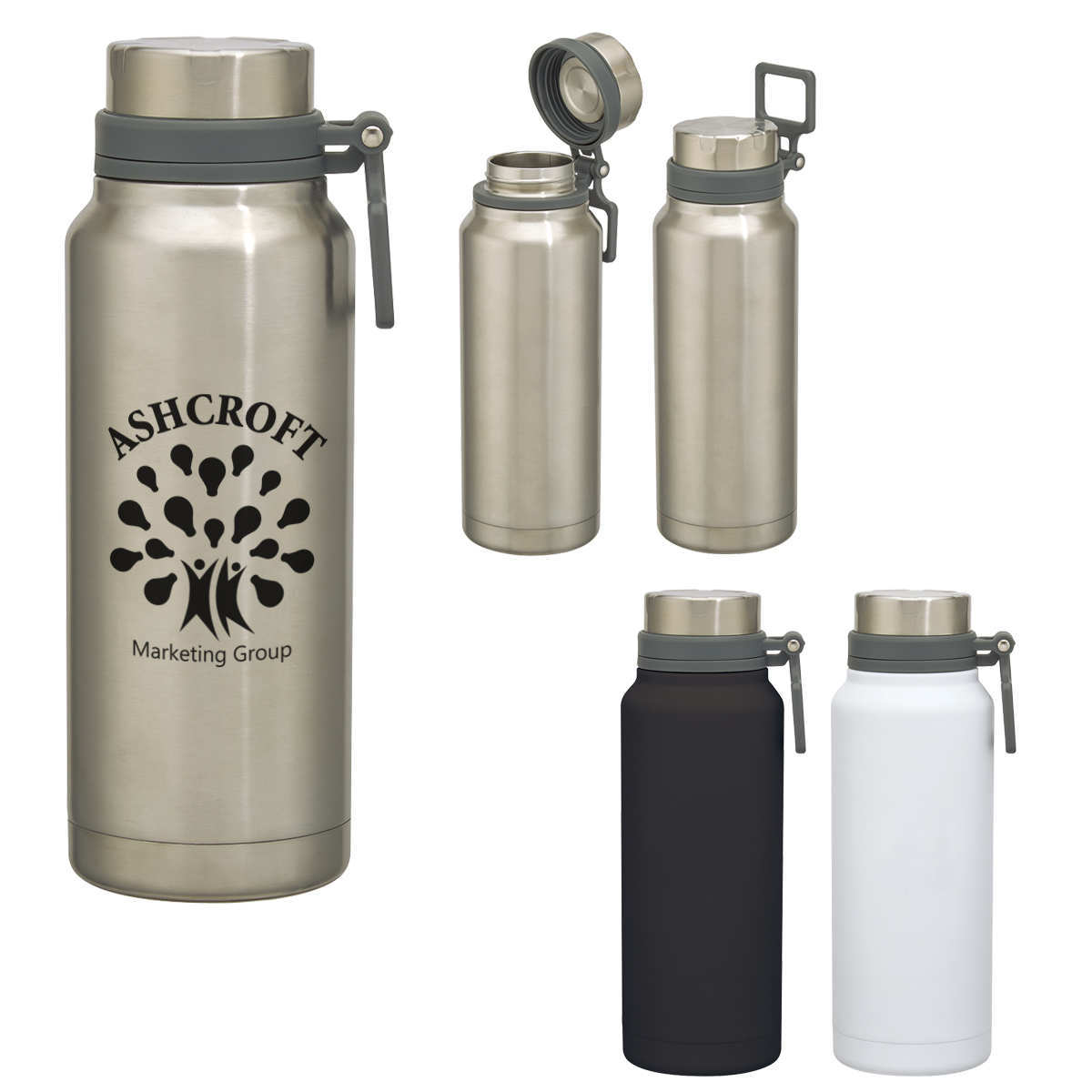 40 OZ.Easton Stainless Steel Growler
