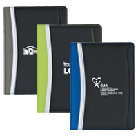 "Stylish, Colorful 5"" x 7"" Jr. Size Portfolio"