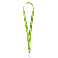 Dye Sublimation Lanyard With Antimicrobial Additive - 3/4""