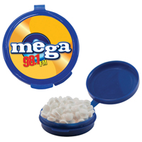 Hook-N-Go Plastic Pill Case w/Mints
