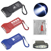 'Beamer' 4 LED Keyholder Keylight with Carabiner Clip