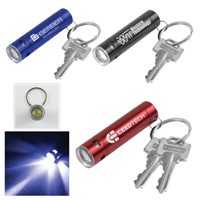 'Streamliner' LED Aluminum Keychain Keylight