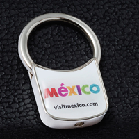 Metal Keyholder PhotoImage ® Full Color Domed Imprint*