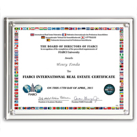 "Magnetic Certificate Holder - Clear on Clear - 8"" x 10"" Insert"